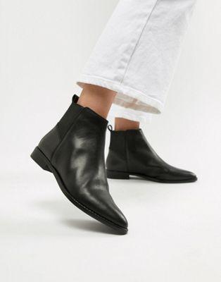 ASOS - DESIGN - Atom - Leren chelsea boots