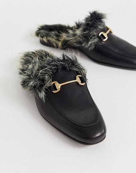 Designer Suede Tassel Flat Mule Pale Pink Rrp £95.00 Summer Classic Shoe Women's Shoes Clothing, Shoes & Accessories