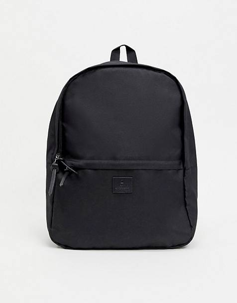 ASOS DESIGN backpack in black 074edd0f32594