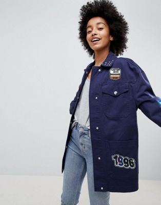 ASOS DESIGN Badge Jacket