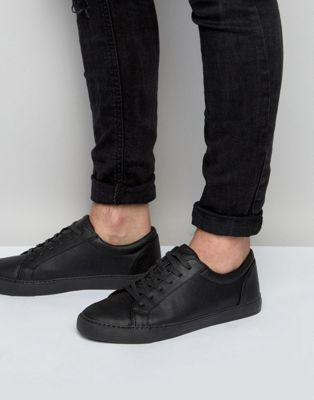 ASOS DESIGN - Baskets vegan - Noir