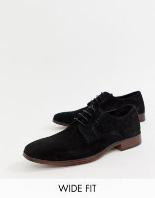 Derby Asos Daim Pointure Large Design Naturelle Avec En Noir Semelle Chaussures wUTPqUSA