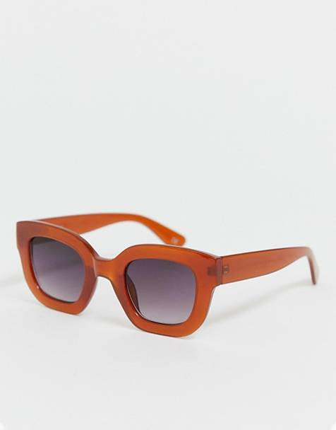f3d6e1d67e ASOS DESIGN chunky cat eye sunglasses
