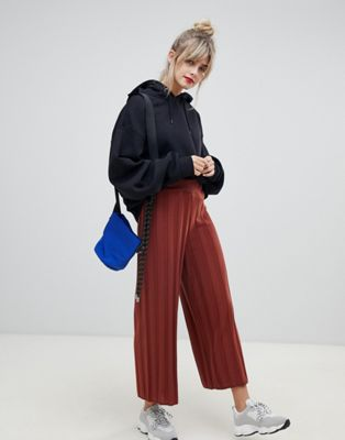 ASOS DESIGN culotte with deep rib