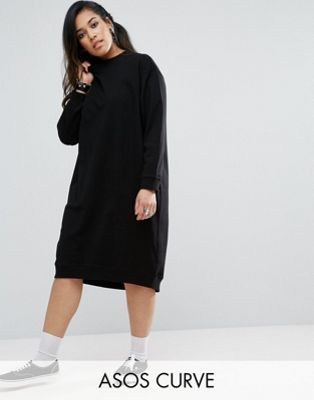 ASOS DESIGN Curve sweat dress