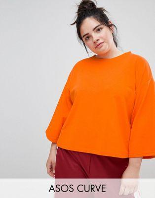 ASOS DESIGN - Curve - Sweater met kimonomouw