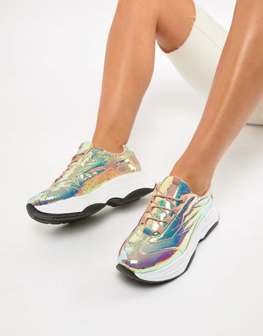 ASOS DESIGN Dare chunky sneakers