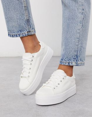 ASOS DESIGN Day light lace up trainers