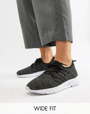 Immagine 1 di ASOS DESIGN - Diploma - Sneakers pianta larga