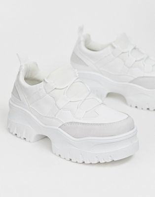 Image 1 of ASOS DESIGN Distance chunky trainers