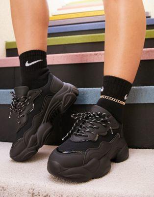 ASOS DESIGN – Divine – Schwarze ChunkySneaker