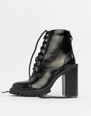 ASOS DESIGN Elm chunky lace up boots