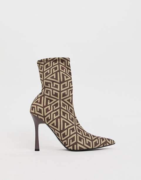 ASOS DESIGN Esme pointed heeled boots