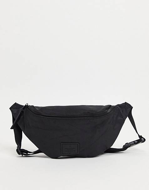 ASOS DESIGN fanny pack in black