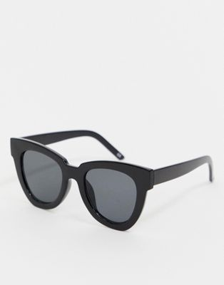 Afbeelding 1 van ASOS DESIGN - Flare cat eye-zonnebril met dik montuur