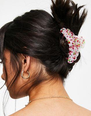 ASOS DESIGN – Haarklammer mit Blumenmuster   ASOS