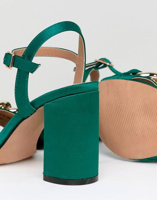 670560bd398d asos-design-hawk-chain-block-heeled-sandals by asos-