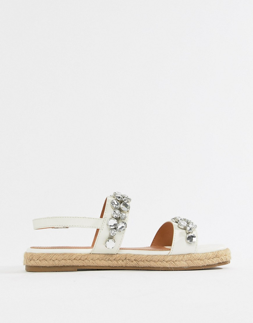 Asos Design Jazmin Embellished Espadrille Sandals by Asos Design