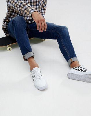 ASOS DESIGN - Jean skinny à délavage vintage bleu foncé