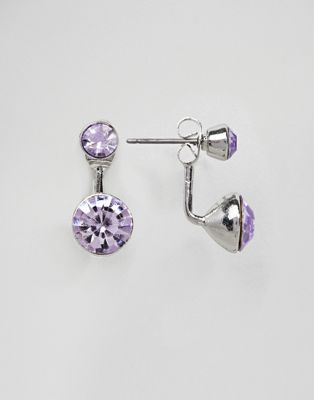 ASOS DESIGN Jewel Swing Earrings