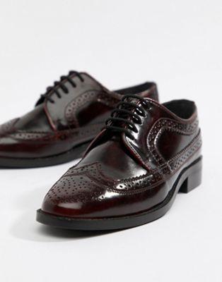 Image 1 sur ASOS DESIGN - Mai Tai - Chaussures richelieu en cuir