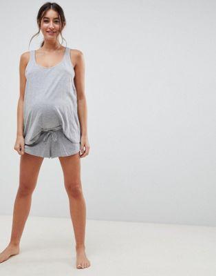 ASOS DESIGN Maternity Mix & Match Pajama Short
