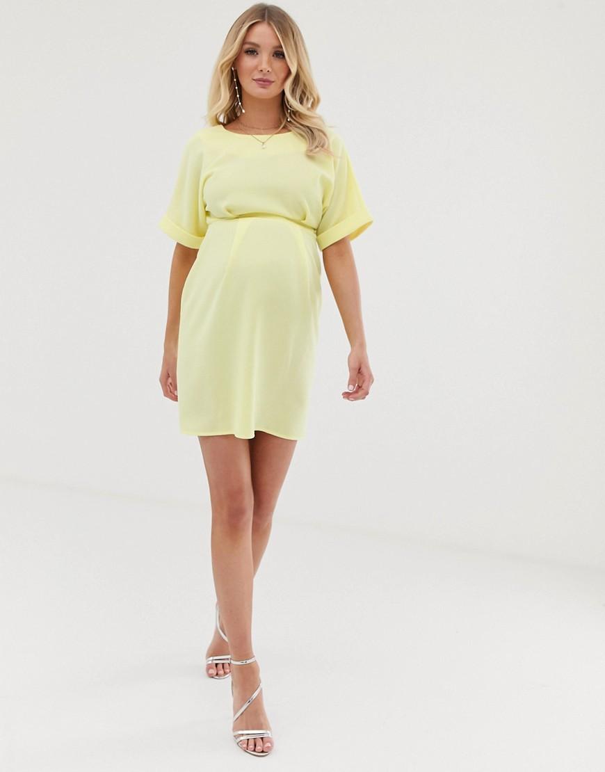 Asos Design Maternity Wiggle Mini Dress by Asos Design