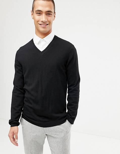 e9c4e8af947 Men's V Neck Jumpers | V Neck Sweaters for Men | ASOS