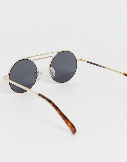 41f76632c567 asos-design-metal-round-sunglasses-in-gold-with-