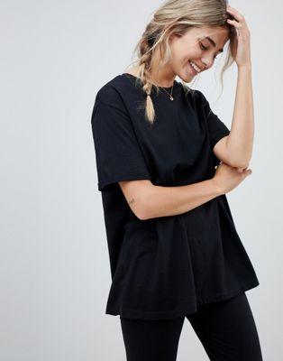 ASOS DESIGN – Mix-and-Match Jersey-Pyjama with T-Shirt