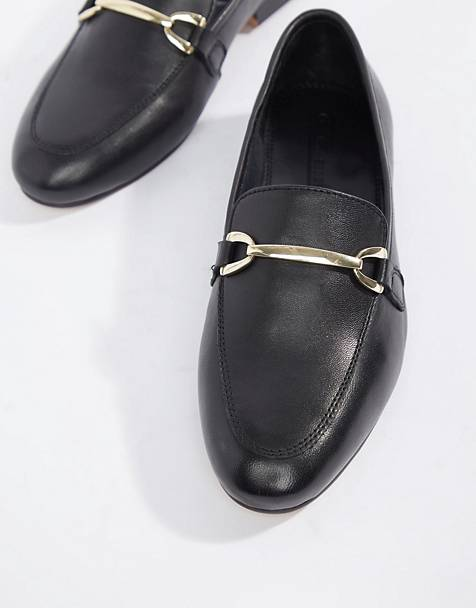 ASOS DESIGN Moment leather loafers