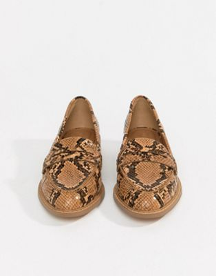 ASOS DESIGN Munch loafer flat shoes