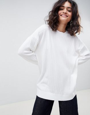 ASOS DESIGN oversize jumper in fine knit