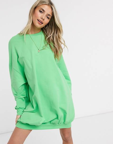 ASOS DESIGN oversize mini sweat dress