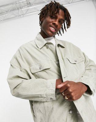 ASOS DESIGN borg bomber jacket in ecru - ASOS Price Checker