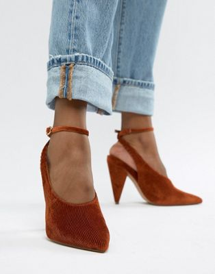 ASOS DESIGN Patience high heels