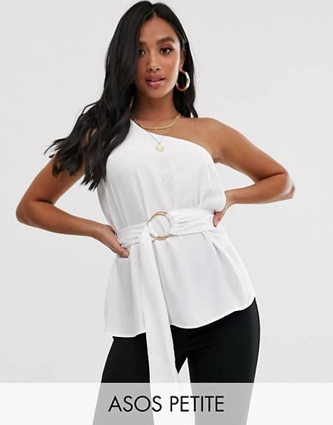 6757881f78a0ce Women's Blouses | Wrap, Open Back & Satin Blouses | ASOS