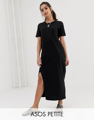 ASOS DESIGN Petite ultimate t-shirt maxi dress