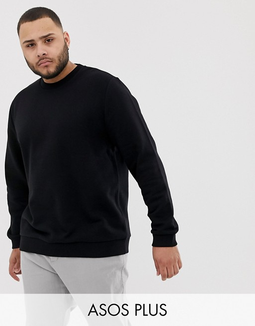 Design Asos Noir PlusSweat shirt CexBWoQrd