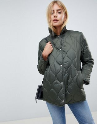 ASOS DESIGN quilted jacket