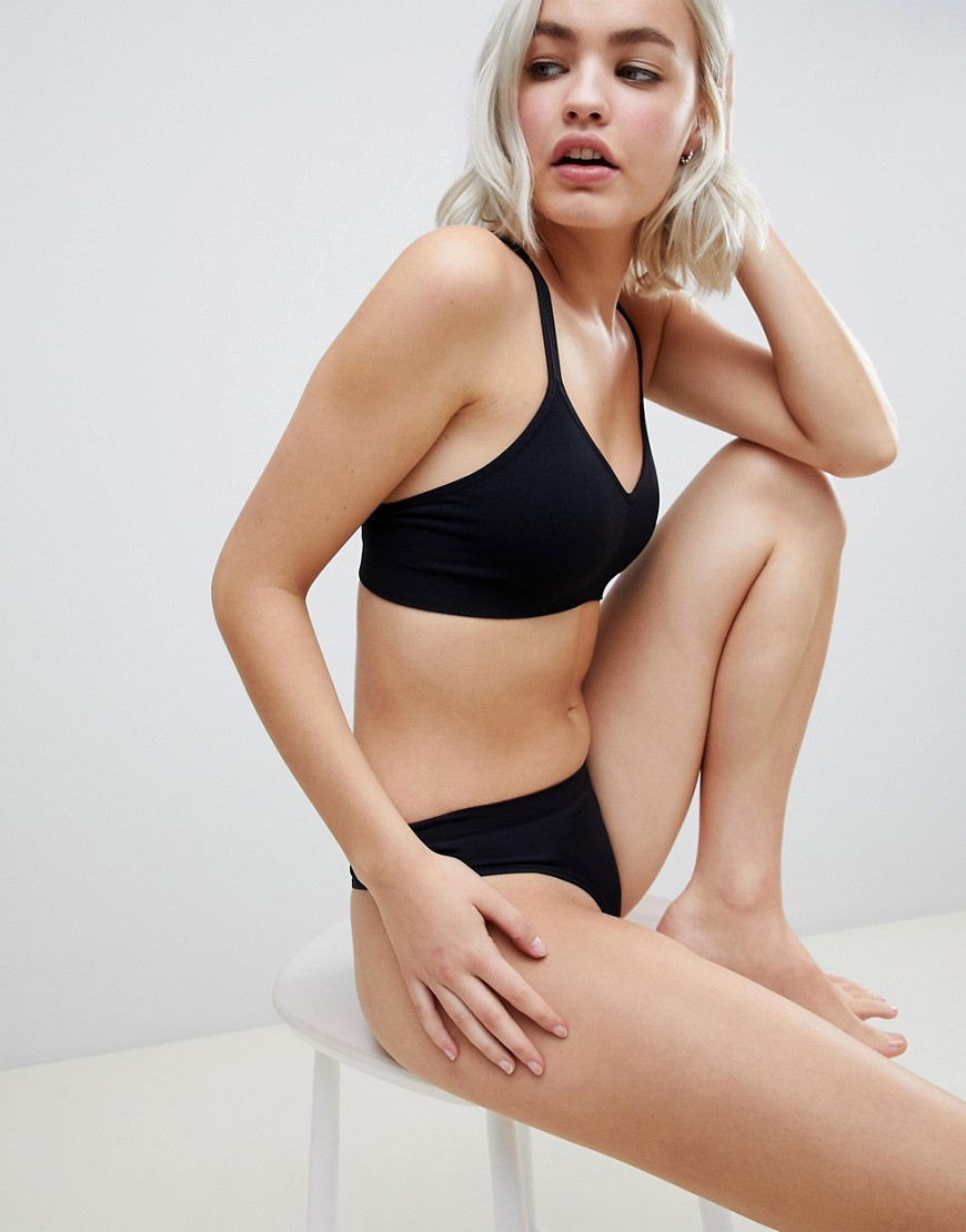 Asos Design Recycled Seamfree Strappy Bralet by Asos Design