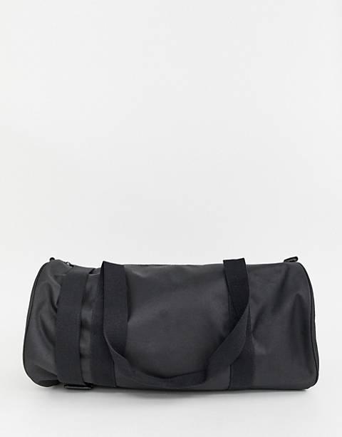 ASOS DESIGN – Reisetasche aus Leinen