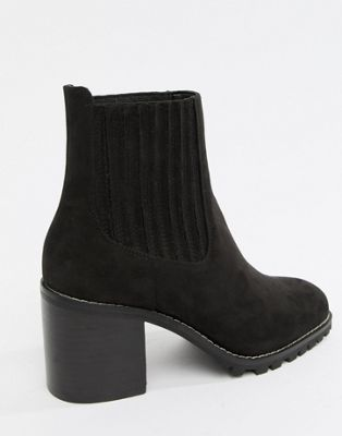 Image 1 of ASOS DESIGN Revolve chunky chelsea ankle boots