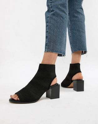 ASOS DESIGN Roman knitted shoe boots