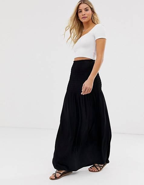 d3b9aba5f Maxi Skirts | Long Skirts For Women | ASOS