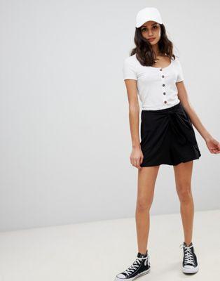 ASOS DESIGN – Shorts mit Bindeband