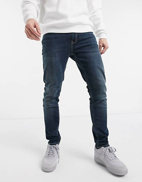 ASOS DESIGN skinny jeans in dark wash