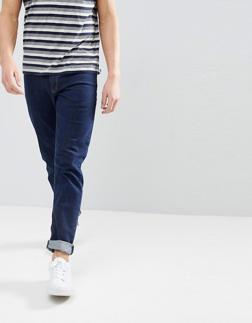 ASOS DESIGN slim jeans in indigo
