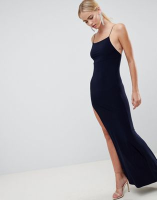 ASOS DESIGN Slinky Maxi Dress