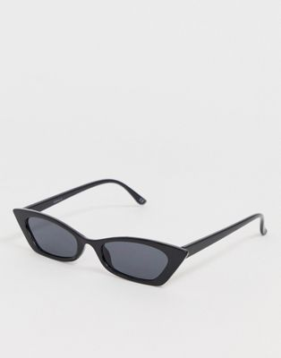 cat eye sunglasses with faded lens in tort - Grey tortoise A.J. Morgan